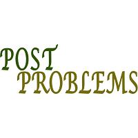 PROBLEMS POST