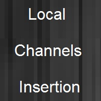 insert local channels in digital headend