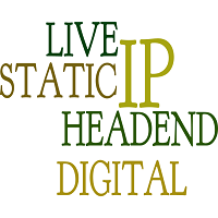 STATIC LIVE IP DIGITAL HEADEND