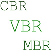 CBR VBR MBR