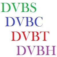 DIFFERENCE BETWEEN DVBS DVBC DVBT DVBH