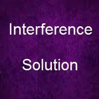Interference Solution for sahara package