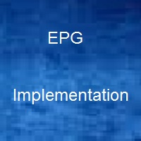 epg implementation for digital headend system