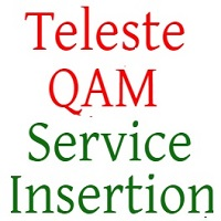 New Service Insertion Teleste QAM
